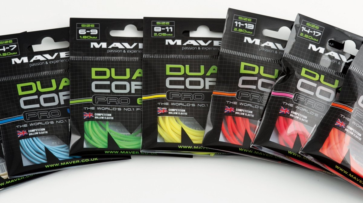 yellow, 2.5m of 8-11 New 2017 Maver Dual Core Pro Pole Elastic in 5m or 2.5m