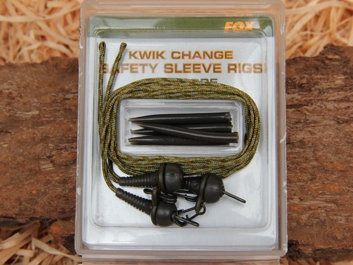FOX Edges Leadcore Helicopter Rigs with Kwik Change Kit