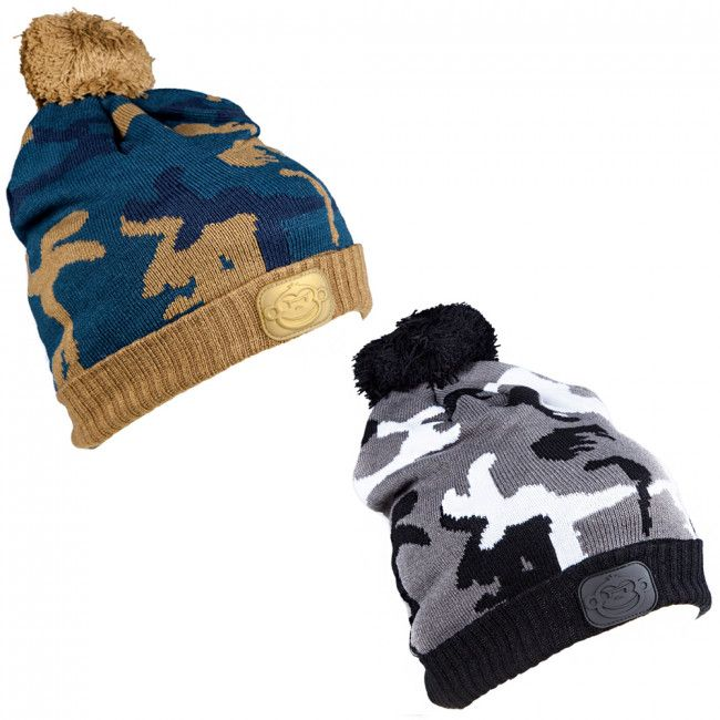 Ridgemonkey Camo Bobble Hats