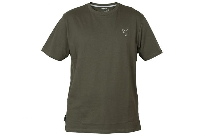 Fox Collection Green & Silver T Shirt