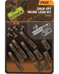 Fox Edges Camo Drop Off Inline Lead Kit