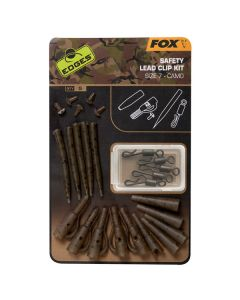 Fox Edges Camo Safety Lead Clip Kit