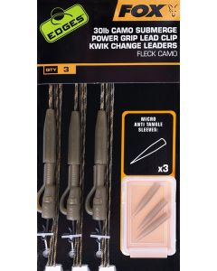 Fox Submerge Power Grip Lead Clip Kwik Change Leaders