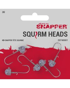 Korum Snapper Squirm Jig Heads