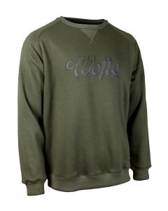 Wofte Olive Rep Sweater