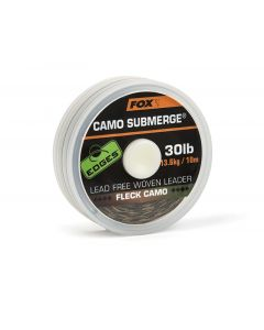 Fox Edges Submerge Fleck Camo Lead Free Leader 10m