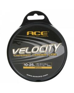 Ace Velocity Tapered Leader Line 300m