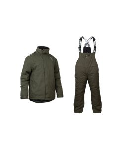 Fox Collection Green / Silver Winter Suit