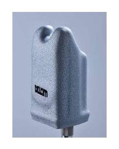 Delkim Coloured Hard case - Silver