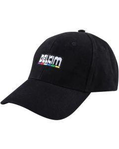 Delkim Logo Black Baseball Cap