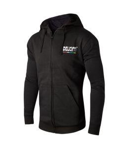 Delkim Logo Black Hoodie