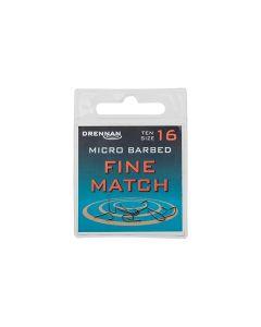 Drennan Fine Match Micro Barbed Hook