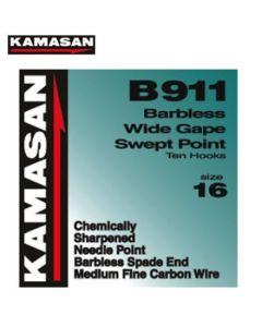 Kamasan B911 Spade End pkts 10