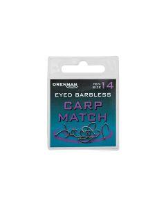 Drennan Eyed Barbless Carp Match Hooks