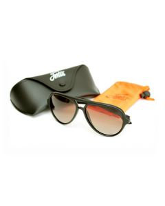 Fortis Matt Black Aviator Sunglasses