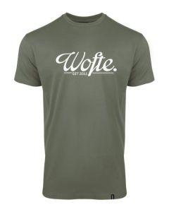 Wofte Olive / White EST.11 T-Shirt