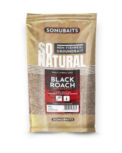 Sonubaits So Natural Black Roach Groundbait 900g