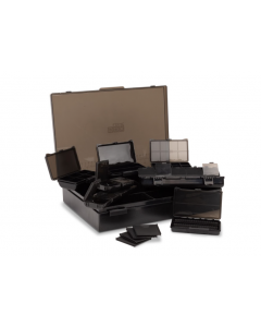 Nash Large Tackle Box Loaded Black