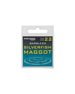 Drennan Silverfish Maggot Barbless Hooks