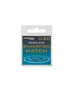 Drennan Barbless Silverfish Match Hooks