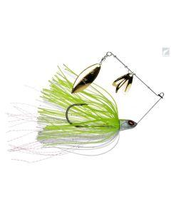 Daiwa Prorex DB Spinner Baits - Pearl Chartreuse