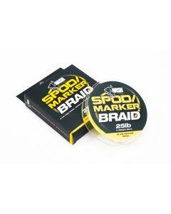 Nash Spod / Marker Braid 25lb 300m - Hi Viz Yellow